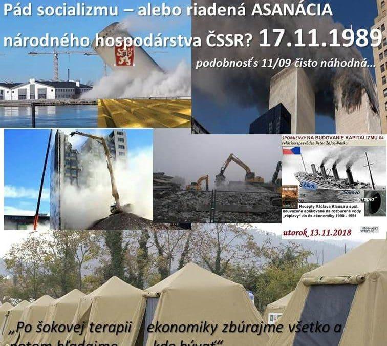 Peter Zajac-Vanka:  Ekonomické dôsledky 17.novembra 1989