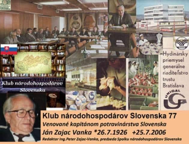 Ján Zajac Vanka, VHJ Hydinársky priemysel, GR trustu, pripomienka